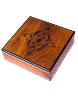 Square wood box SWJB-12-0
