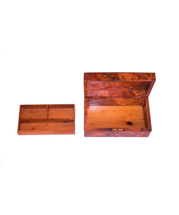 Square wood box SWJB-16-2827