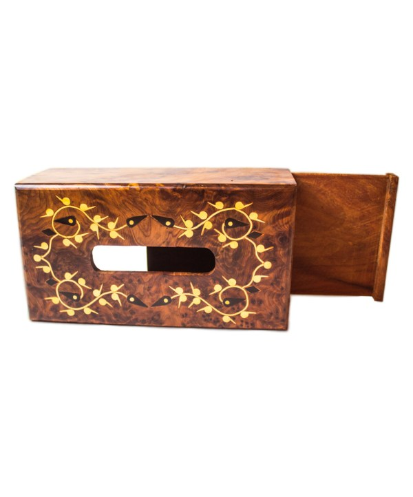wood Tissue Box WJTB-07-2878