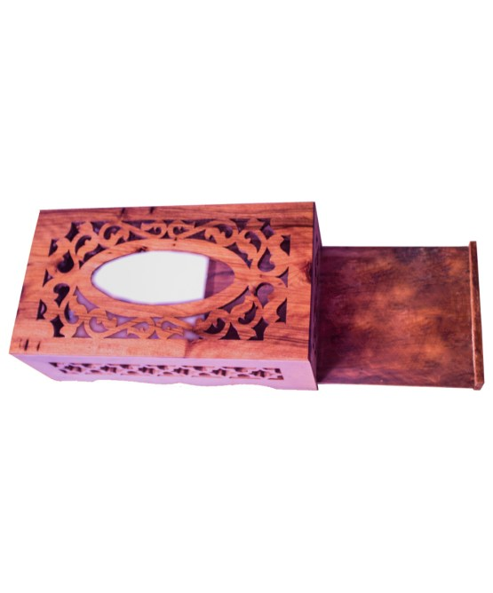 wood Tissue Box WJTB-01-2853