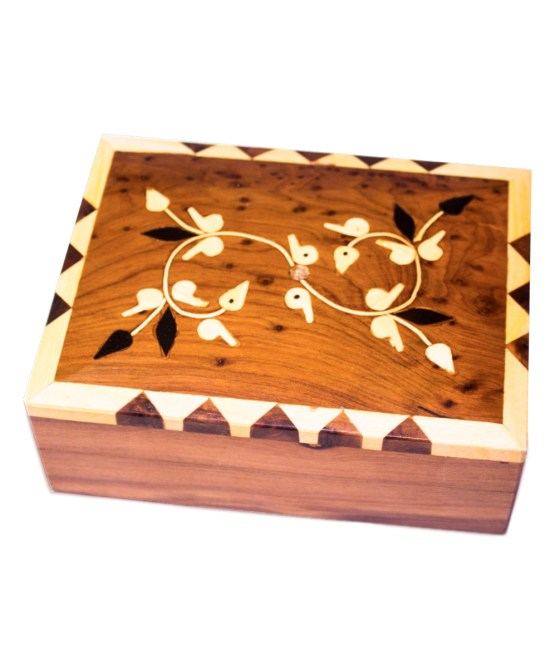 Square wood box SWJB-03-2792