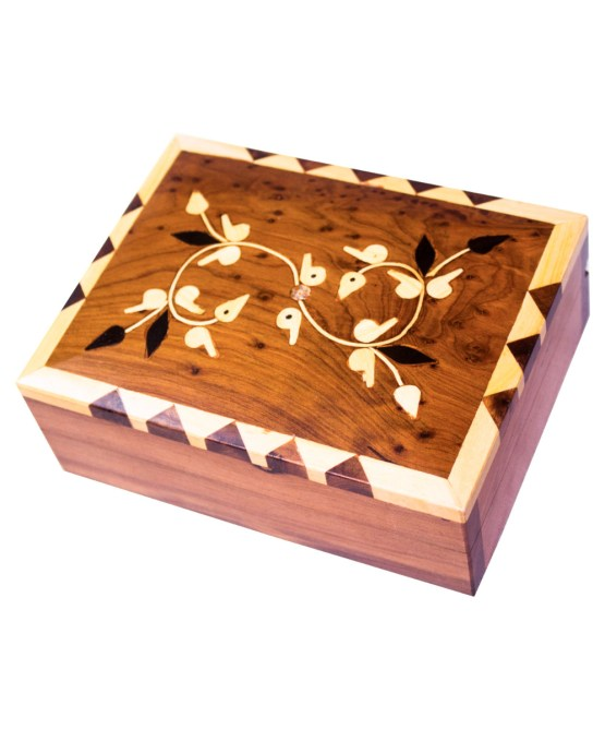 Square wood box SWJB-03-0