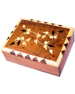 Square wood box SWJB-03-0