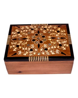 Square wood box SWJB-09-0