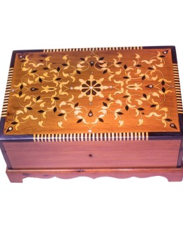 Square wood box SWJB-08-0