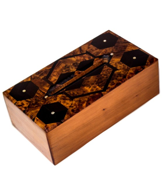 wood Tissue Box WJTB-03-0