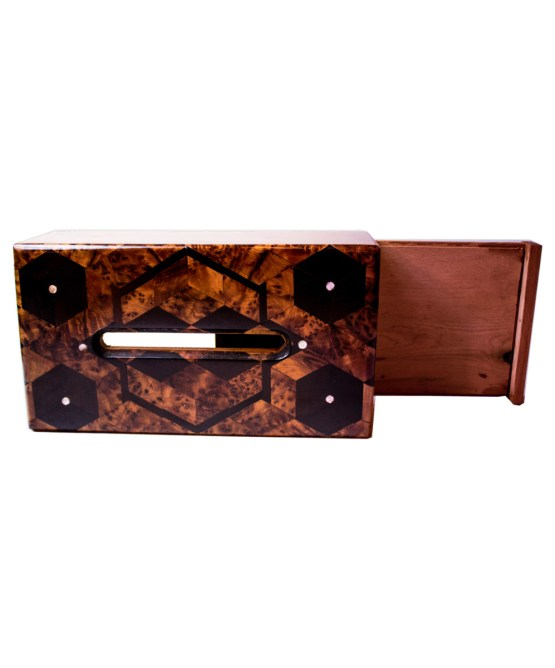 wood Tissue Box WJTB-03-2863
