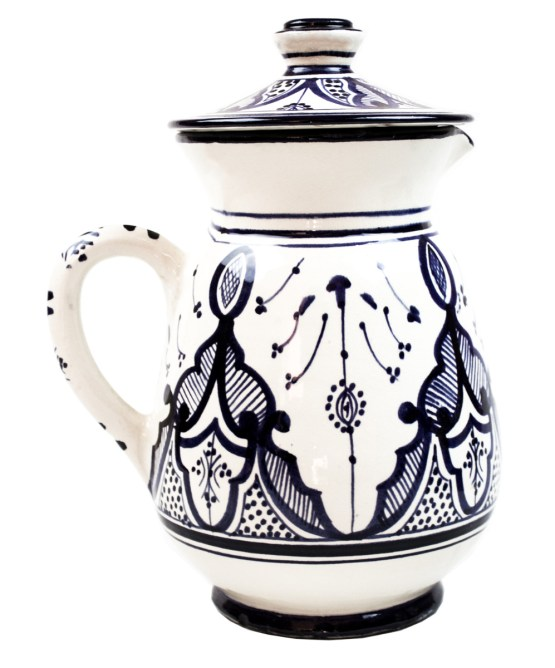 Collection Ceramic Jug in Blue and White -3021