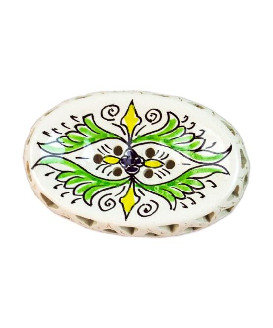 Ceramic Soap Dish CSD-02-0