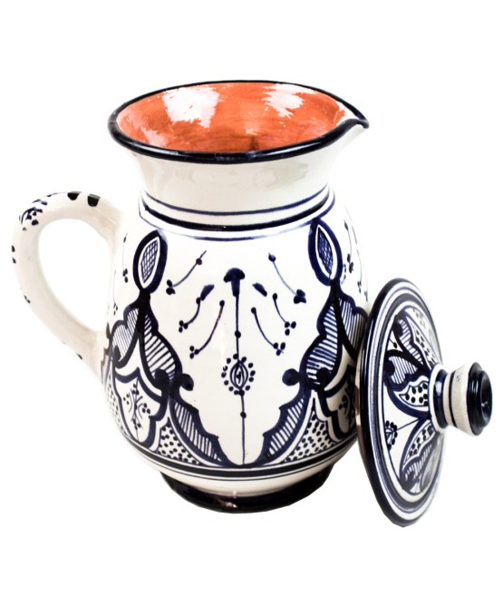 Collection Ceramic Jug in Blue and White -3020