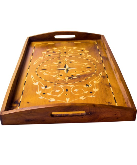 Tray of Thuya wood WP-06WT -0