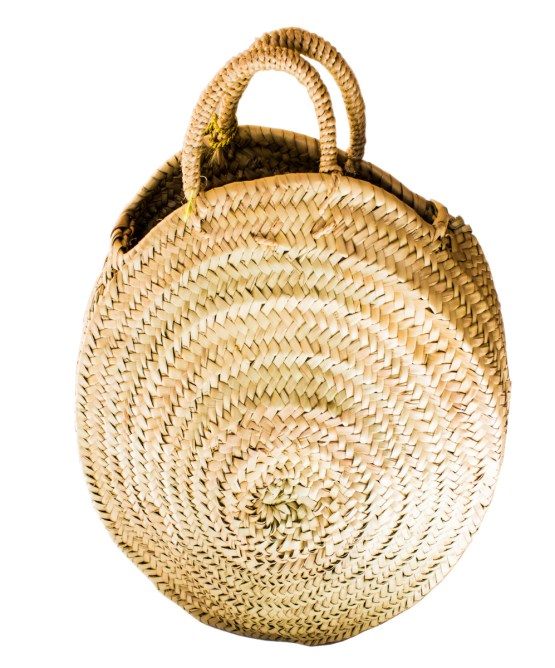 roundly straw basket FP-05CSB-3056
