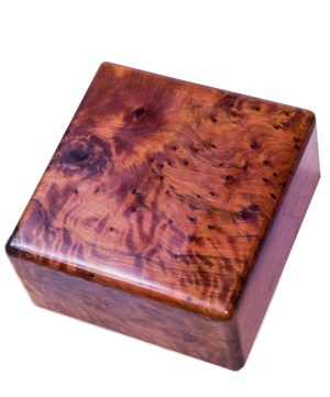 Square wood box SWJB-15-0