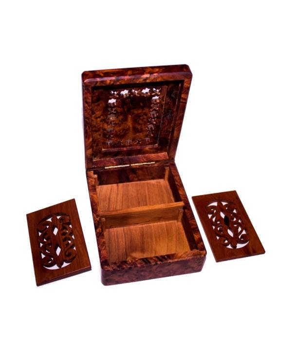 Square wood box SWJB-24-2848