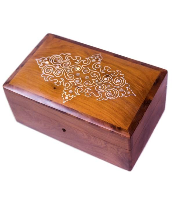 Square wood box SWJB-14-0
