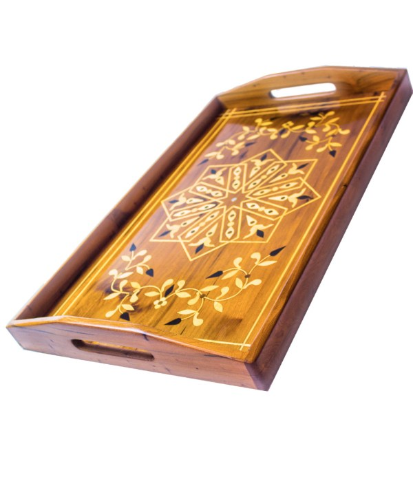 Tray of Thuya wood WP-05WT-2892