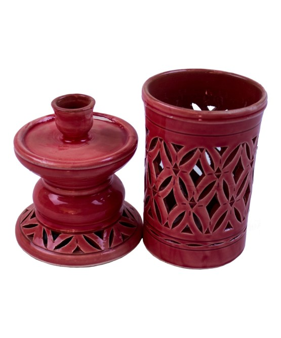 Ceramic candle holder CCH-02-3346