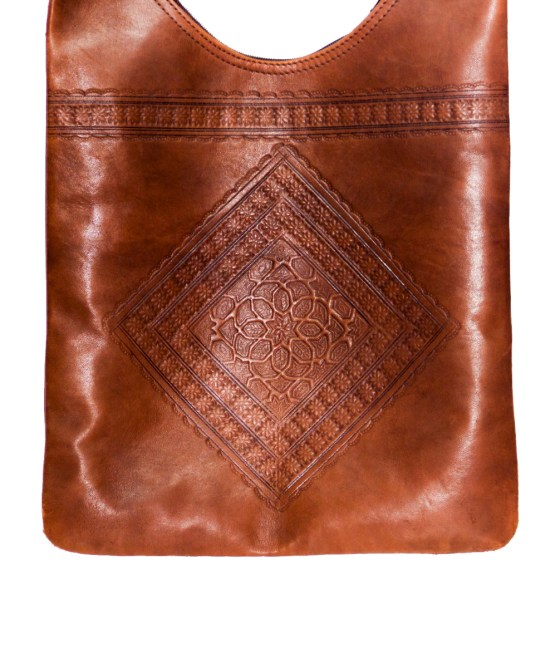 leather Saddle bag-3436