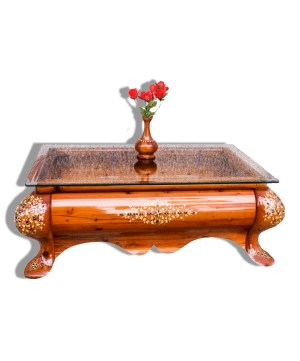Traditional table made of Thuya wood TW01T-0