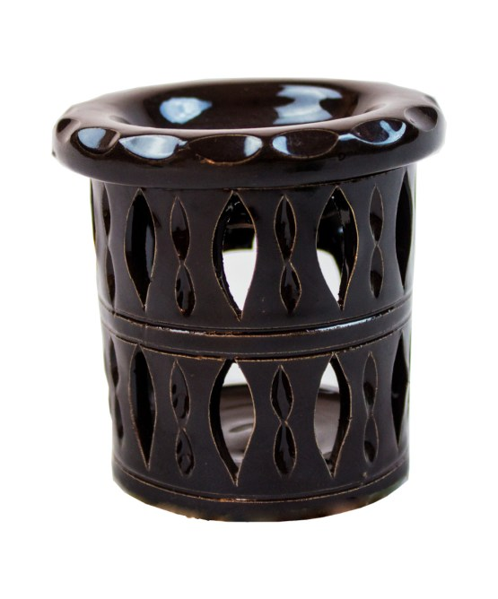 Ceramic candle holder CCH-01-3343