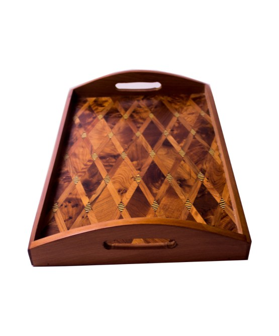 Tray Set made of thuya wood WP-15WT-0