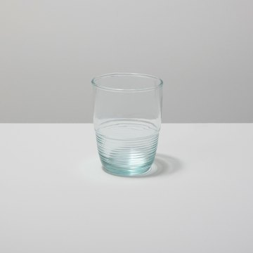 Recycled Glass Ripple Tumbler