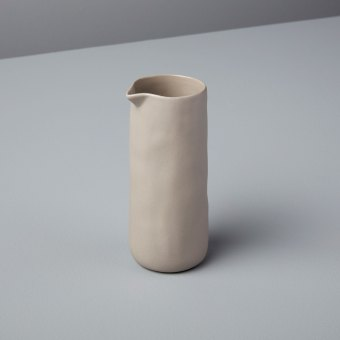 Stoneware Round Cellar, Slate