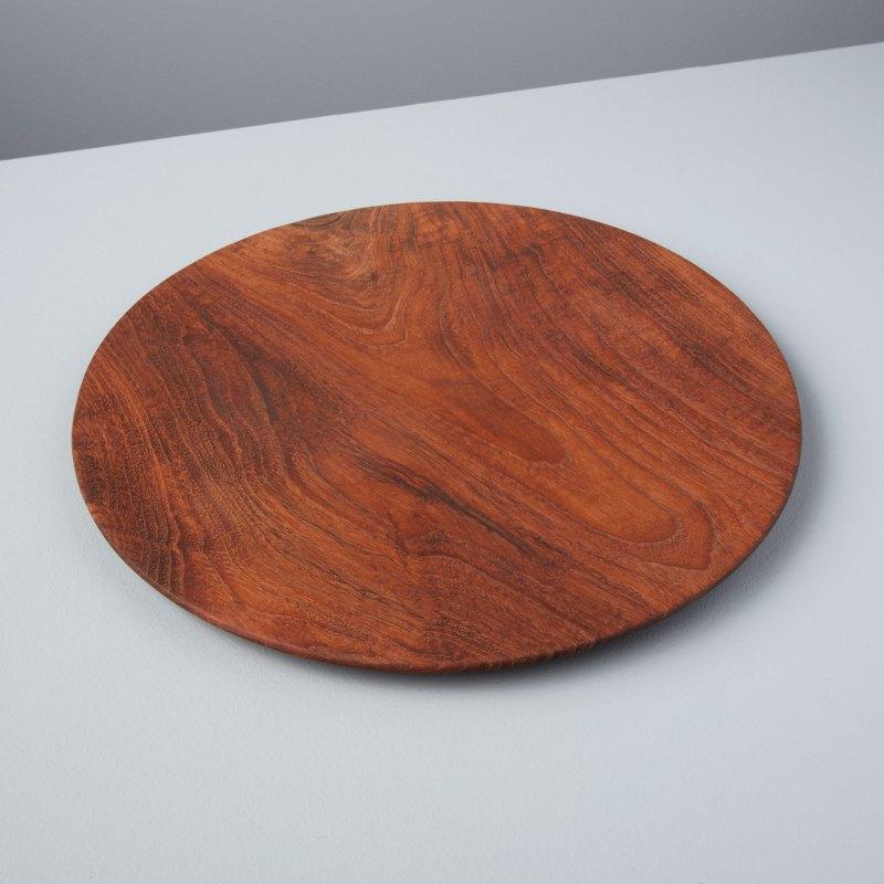 Teak Round Plate Large