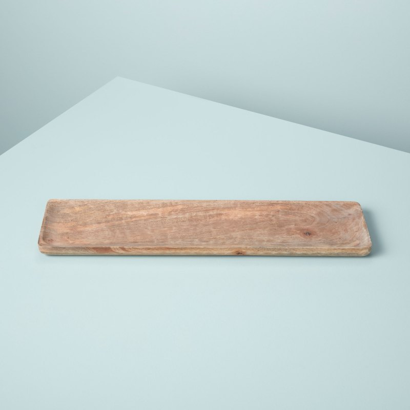 Natural Mango Wood Rectangular Tray