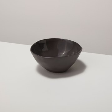 Stoneware Bowl Slate, Small