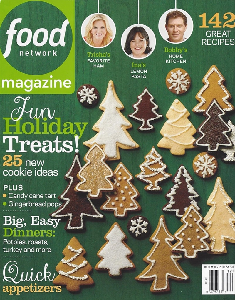 Food Network 2013 Cover