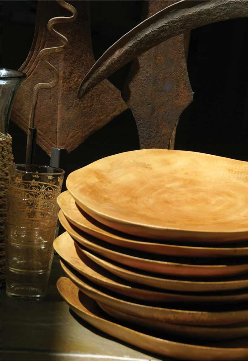 Mango Wood Plate Large
