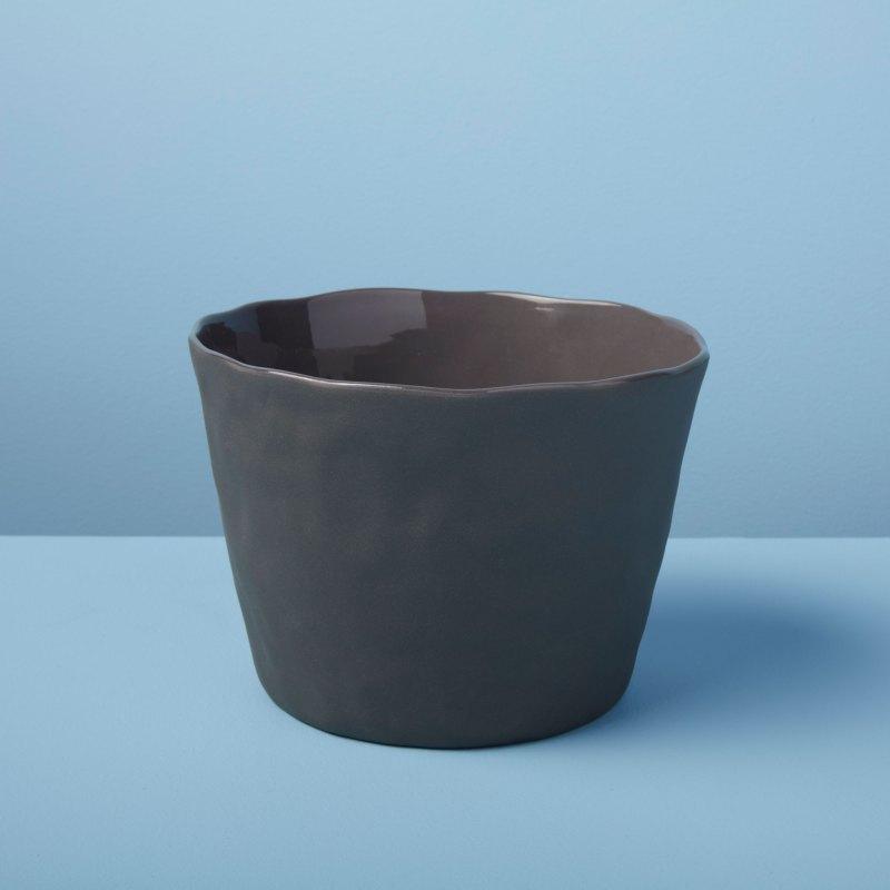 Stoneware Planter, Slate, Large