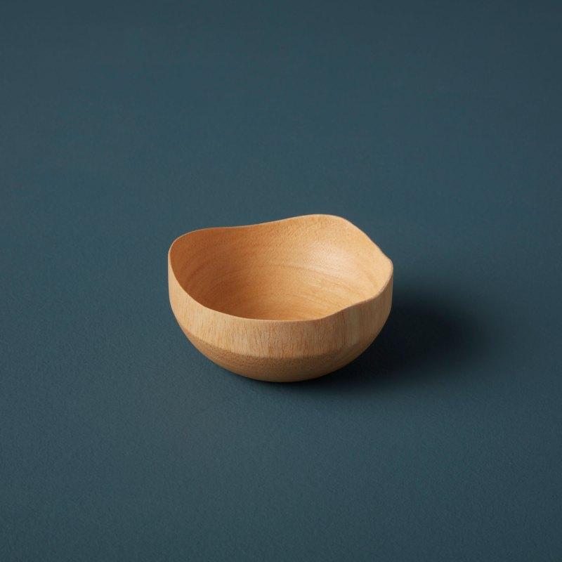Mango Wood Wave Edge Bowl Mini
