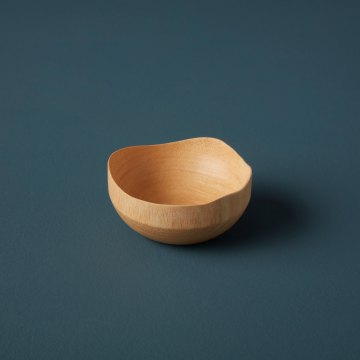 Mango Wood Wave Edge Bowl Mini