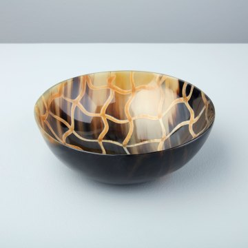 Horn Bowl Fishnet Large