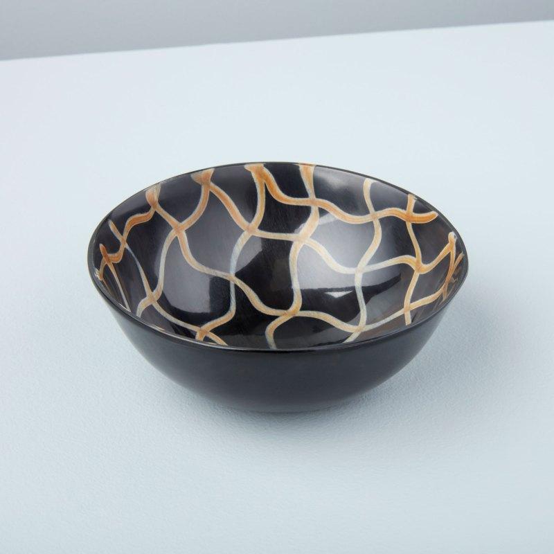 Horn Bowl Fishnet Medium