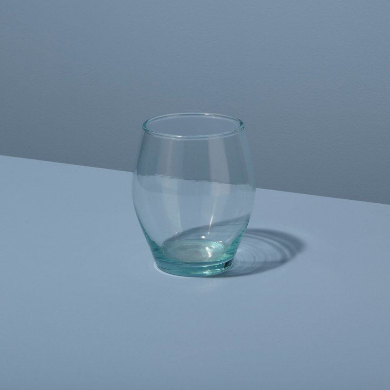 Recycled Glass Stemless Tulip