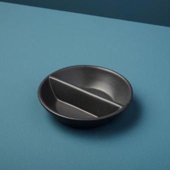 Gold Rim Stoneware Carafe Sterling, Small