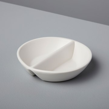 Stoneware Divided Cellar White