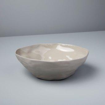 Stoneware Bowl, Slate, Large