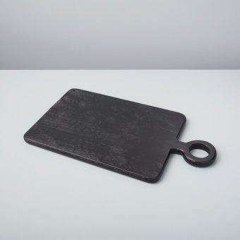 Black Mango Wood Mini Board Square
