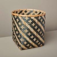 Be-Home_Diagonal-Stripe-Bamboo-Basket-Large-Black_97-101