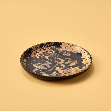Horn Plate, Small, Splatter