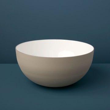Dove Aluminum & Enamel Bowl, Large