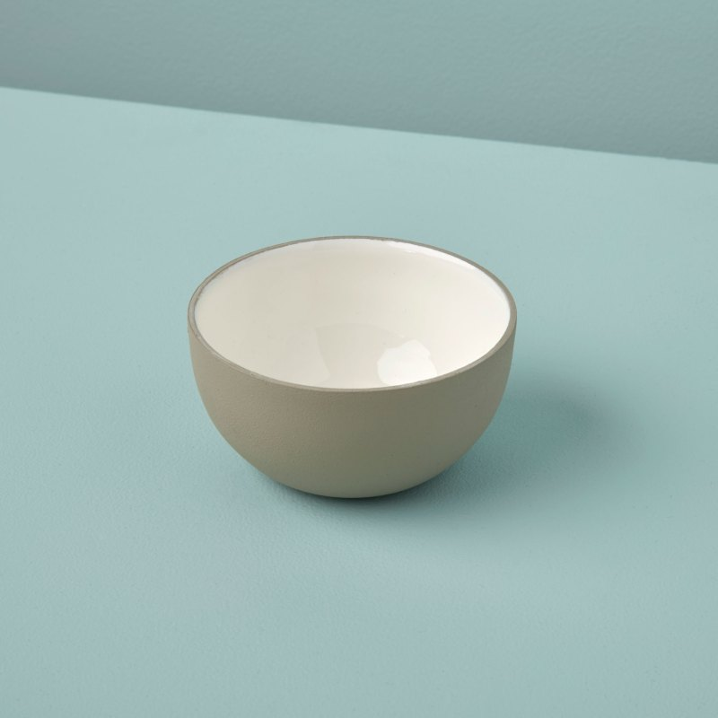 Dove Aluminum & Enamel Bowl, Mini