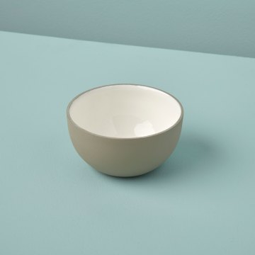 Dove Aluminum & Enamel Bowl, Mini