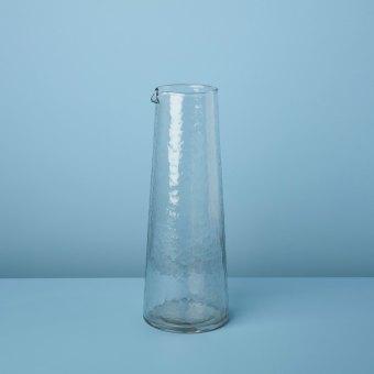 Pebble Glass Globe Pitcher