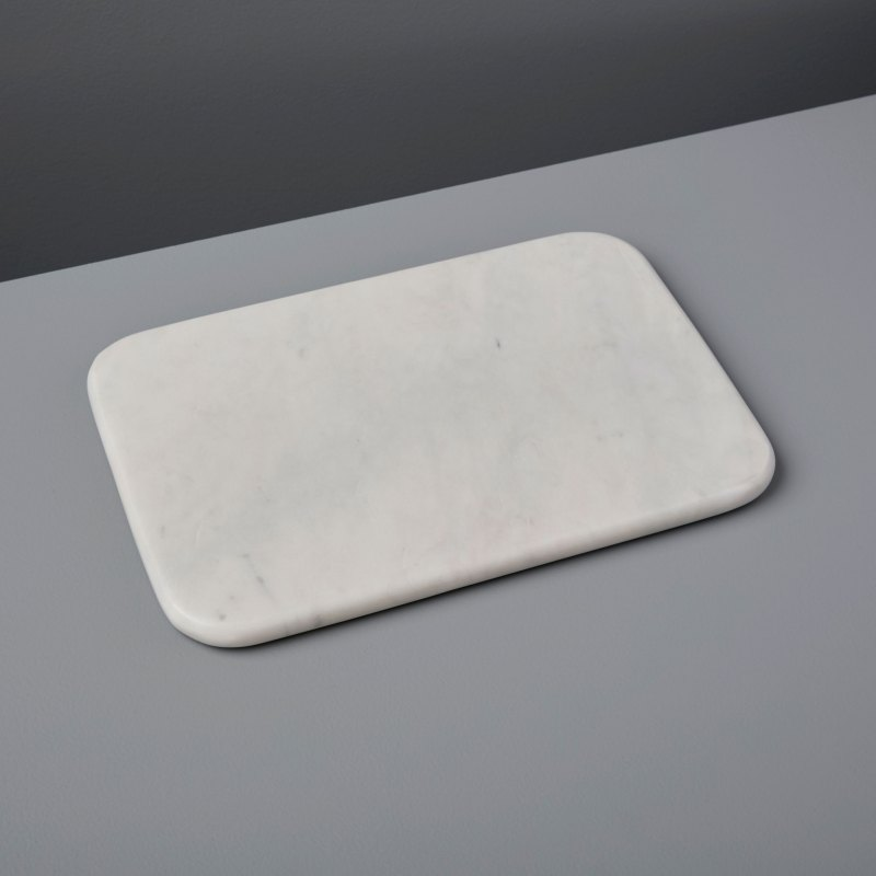 White Marble Pastry Slab, Small