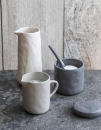 Stoneware Mug, Sterling 2